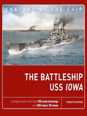 cover image of The Battleship USS Iowa