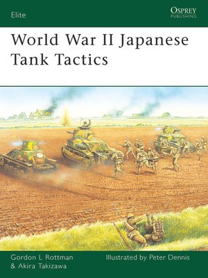 cover image of World War II Japanese Tank Tactics