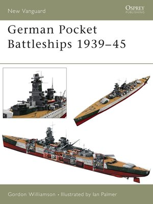 cover image of German Pocket Battleships 1939-45