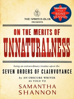 cover image of On the Merits of Unnaturalness
