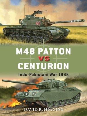 cover image of M48 Patton vs Centurion