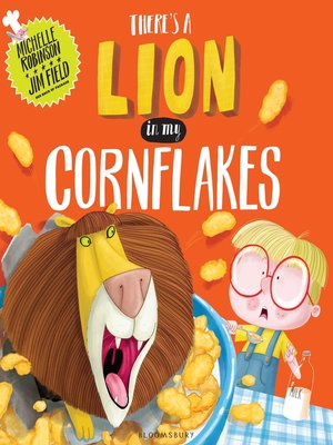 cover image of There's a Lion in My Cornflakes