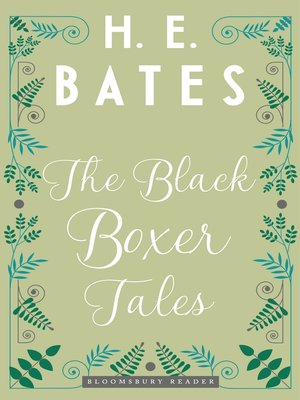 cover image of The Black Boxer Tales