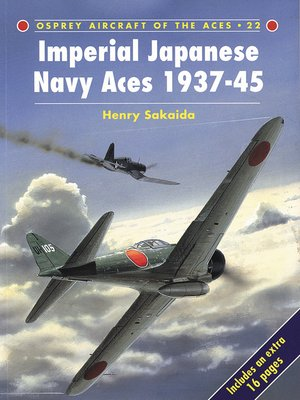 cover image of Imperial Japanese Navy Aces 1937–45