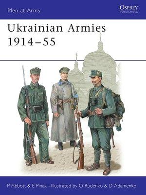 cover image of Ukrainian Armies 1914–55