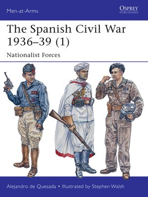 cover image of The Spanish Civil War 1936-39 (1)