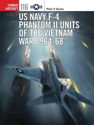 cover image of US Navy F-4 Phantom II Units of the Vietnam War 1964-68