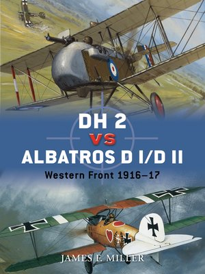 cover image of DH 2 vs Albatros D I/D II
