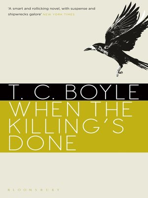cover image of When the Killing's Done