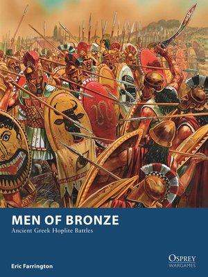 cover image of Men of Bronze