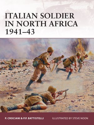 cover image of Italian Soldier in North Africa 1941-43