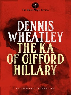 cover image of The Ka of Gifford Hillary