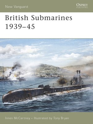 cover image of British Submarines 1939-45