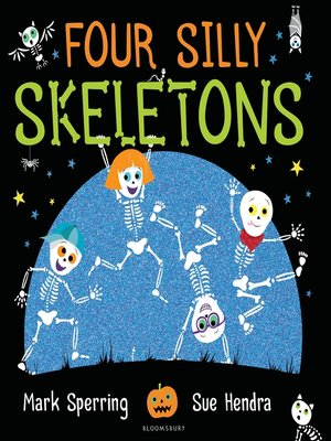 cover image of Four Silly Skeletons