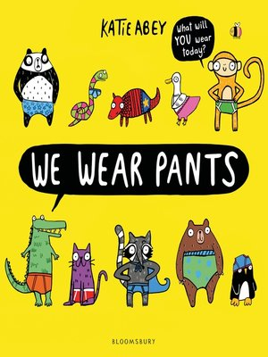 cover image of We Wear Pants