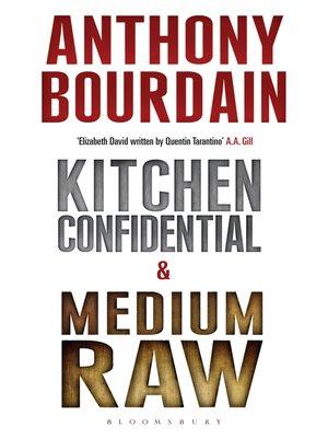 cover image of Anthony Bourdain boxset