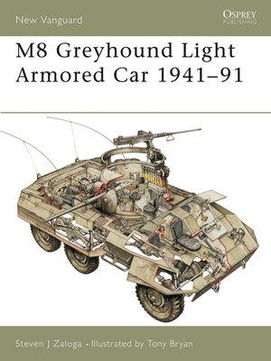 cover image of M8 Greyhound Light Armored Car 1941-91
