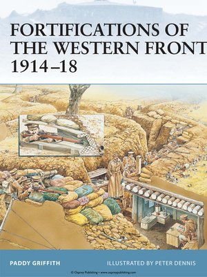 cover image of Fortifications of the Western Front 1914-18