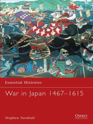 cover image of War in Japan 1467-1615