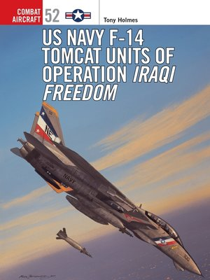 cover image of US Navy F-14 Tomcat Units of Operation Iraqi Freedom