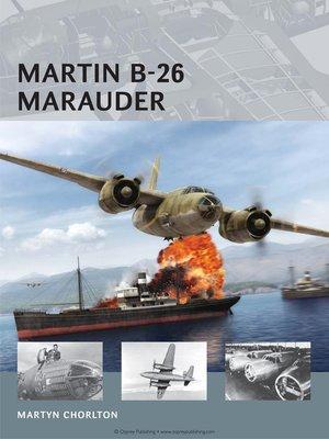 cover image of Martin B-26 Marauder