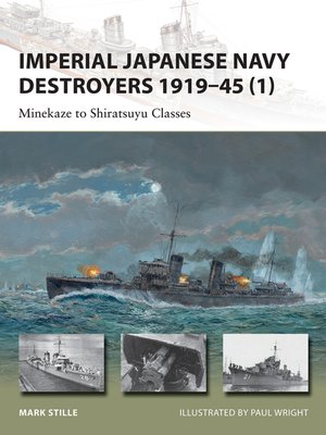 cover image of Imperial Japanese Navy Destroyers 1919-45 (1)