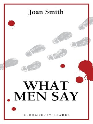 cover image of What Men Say