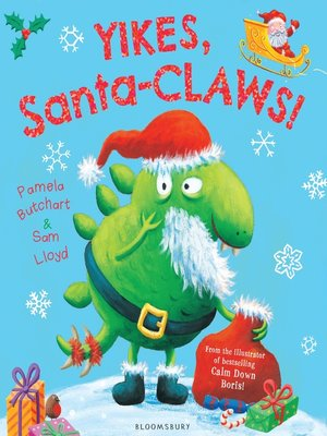 cover image of Yikes, Santa-CLAWS!