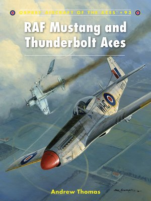 cover image of RAF Mustang and Thunderbolt Aces