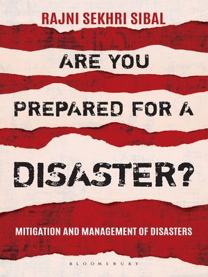 cover image of Are You Prepared for a Disaster?