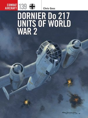 cover image of Dornier Do 217 Units of World War 2