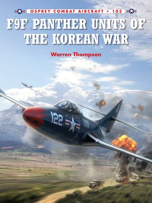 cover image of F9F Panther Units of the Korean War
