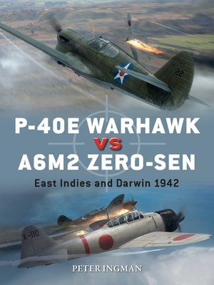 cover image of P-40E Warhawk vs A6M2 Zero-sen