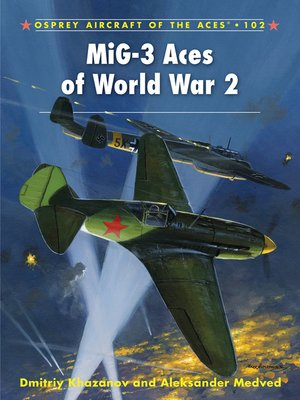 cover image of MiG-3 Aces of World War 2