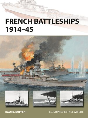 cover image of French Battleships 1914–45