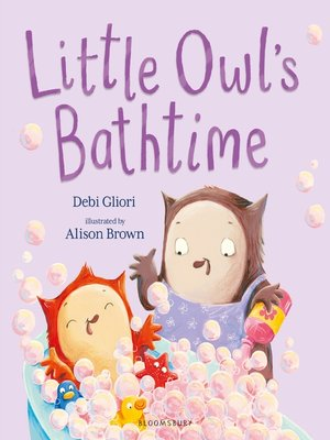 cover image of Little Owl's Bathtime