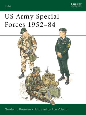 cover image of US Army Special Forces 1952-84