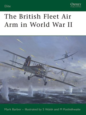 cover image of The British Fleet Air Arm in World War II