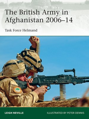 cover image of The British Army in Afghanistan 2006–14