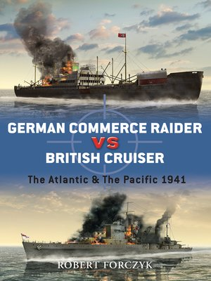 cover image of German Commerce Raider vs British Cruiser