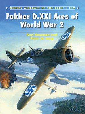 cover image of Fokker D.XXI Aces of World War 2