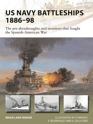 cover image of US Navy Battleships 1886–98