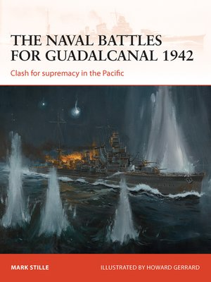 cover image of The Naval Battles for Guadalcanal 1942