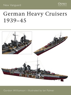 cover image of German Heavy Cruisers 1939–45