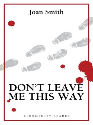 cover image of Don't Leave Me This Way
