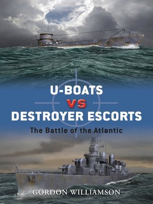 cover image of U-boats vs Destroyer Escorts