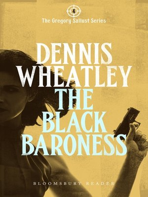 cover image of The Black Baroness