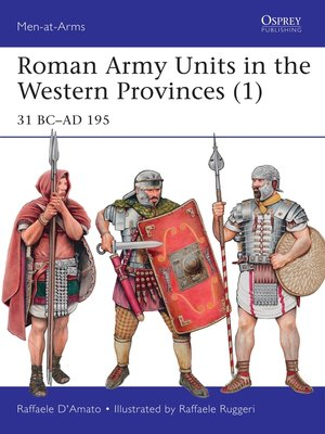 cover image of Roman Army Units in the Western Provinces (1)
