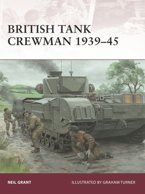 cover image of British Tank Crewman 1939-45