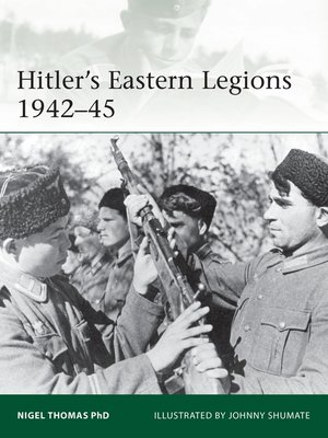 cover image of Hitler's Eastern Legions 1942–45